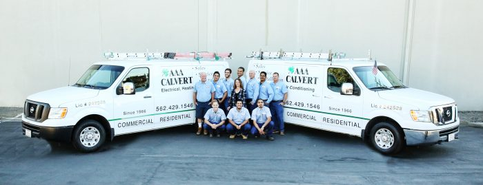 AAA Calvert Electrical, Heating and AC Repair Long Beach