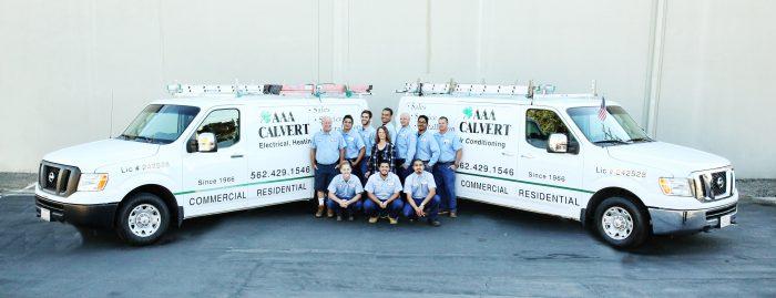AAA Calvert Electrical, Heating and AC Repair Long Beach
